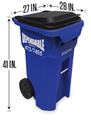 Trash Tote for Onondaga County and Cayuga County