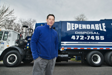 Steve Morgan of Dependable Disposal